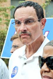 D.C. Mayor Vincent Gray came under attack for scandals involving people who worked for him.