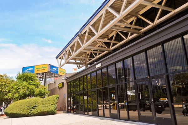 A deal to move Greyhound's bus depot in NoMa to Union Station helped clear the way for Perseus and First Potomac Realty Trust to buy the 1.6-acre site. Greyhound is leasing the property for at least two years.