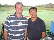 Fore! healthThe Washington Business Journal hosted an evening of golf Aug. 29 at Top Golf in Alexandria. The event brought together sponsors and finalists for the Healthiest Employer Awards. Taking part in the tech-enabled target golf were Matthew Bremner, left, and Luan Tran, both of Duke Realty.