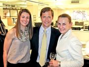 From left, Meg Davis of MGAC, Chilton Griffin of Cresa and Diana Horvat of Envision.