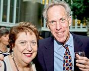 Hope Connections for Cancer Support gathered for its annual Celebration of Hope Gala March 22 at The World Bank. The organization recognized founding board member Bob Fleshner of the American Odyssey Relay, here with consultant Barbara Bey, for his work.