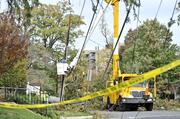 Hurricane Sandy blew through the region, pushing disaster preparedness plans into action and spurring utilities — still smarting from the summer derecho — to staff up in anticipation of widespread outages.