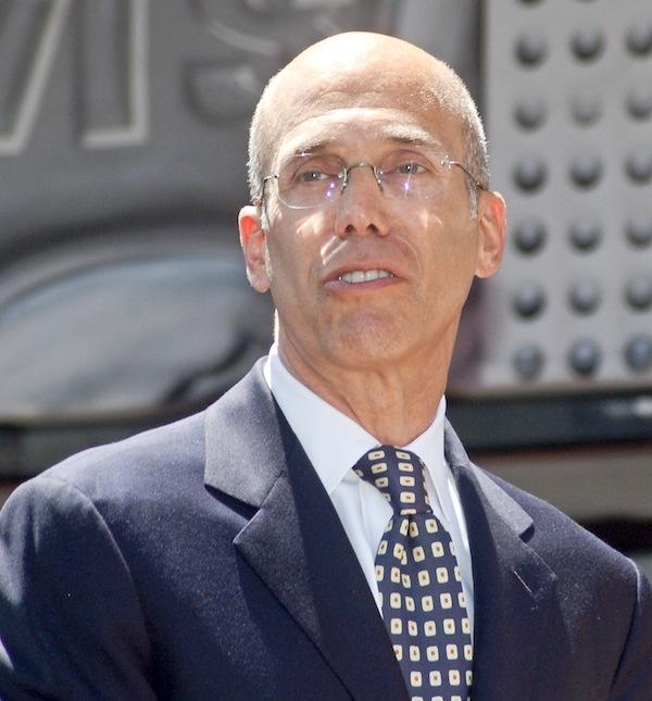 DreamWorks CEO Jeffrey Katzenberg is expected to oversee the company through 2017.