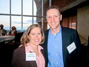 The attendees included Jennifer Stone, director at WTAS, and Tim Hughes, director at Highline Wealth Management.