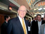 John Schwieters, who was local managing partner until 2000 and now serves on several boards.