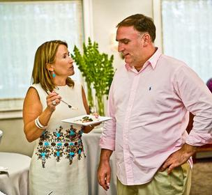 "Ridgwells' Susan Lacz and Jose Andres say their split was amicable. ""The business was not very profitable,"" Lacz says."