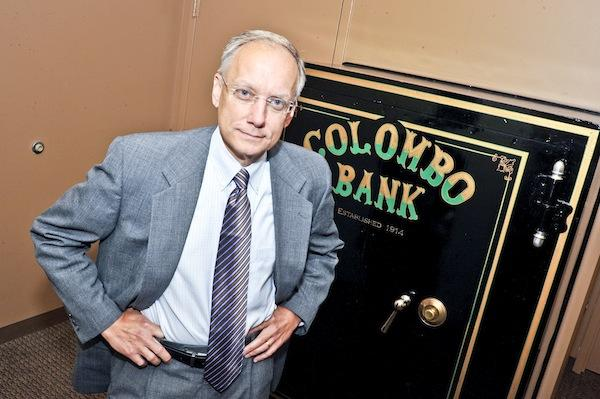 """""""I'm not a workout guy. I'm a deal guy. I put deals together,"""" says Gil Kennedy, who joined Colombo Bank as CEO in July."""