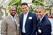 From left, Charles Thomas Jr. of LMI, Rick Holzheimer of Cochran & Owen and Ernest Gomez of Freddie Mac. Courtesy William Marlow
