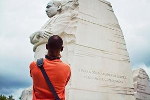 Before the majestic Martin Luther King Jr. Memorial — the National Mall's first to be dedicated to a nonelected public figure — the most recent monument built on the Mall was the World War II Memorial in 2004. The MLK memorial broke ground in 2006 but didn't receive its final construction permitting until 2009.