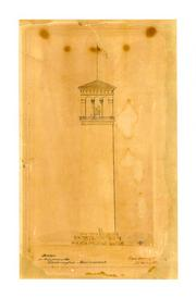 When construction on the Washington Memorial restarted in 1876, proposals like this one from Montgomery Meigs., who later designed the building now known as the National Building Museum, showed how it could be completed.