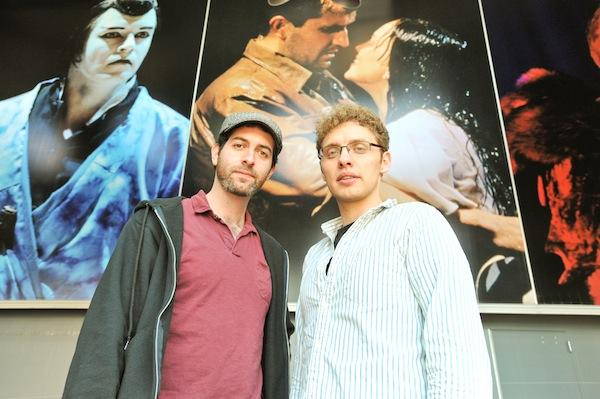 No Rules Theatre Company's Brian Sutow, left, and Joshua Morgan will stage shows at Signature Theatre's space in Arlington. They will pay below-market rent for use of Signature's smaller performance venue.
