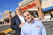 Andy Freitas and his dad, Bill, grew a small 1993 investment from a family friend into a $60 million Papa John's franchise.