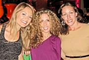 From left, Amanda McClements of Metrocurean, Nycci Nellis of TheListAreYouOnIt.com and Amber Pfau of Pfau Communications.