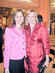 Alison Starling, left, and Abby Fenton of WJLA-Channel.