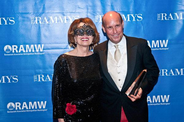 Lynne Breaux, left, is moving on next year from the Restaurant Association Metropolitan Washington.