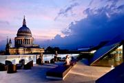 Lehman Smith McLeish's interiors for the London offices of K&L Gates, an American law firm, won the prestigious British Council for Offices first-place award. The office's patio overlooks St. Paul's Cathedral.