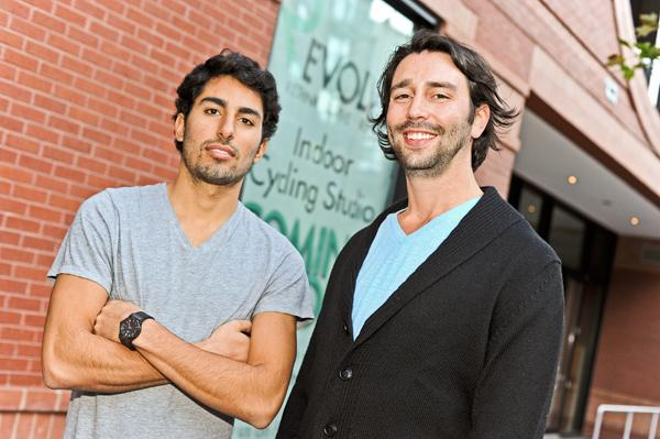 To attract fitness centers, landlords are offering concessions to companies like Revolve Fitness, run by Jonathan Moinian, left, and Sylvan Garfunkel.