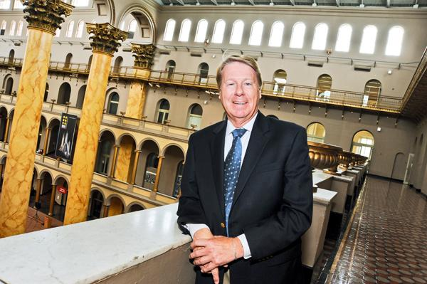 """After years of trying to remain free, the National Building Museum has begun charging for admission. """"We seriously are down to the bone,"""" says Chase Rynd."""