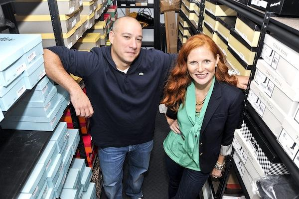 Adam Hanin, of online retailer Skye Associates, is taking over the SimplySoles business that Kassie Rempel started in 2004. She is treading into a new entrepreneurial venture, Kassie's Closet, which designs women's outfits.