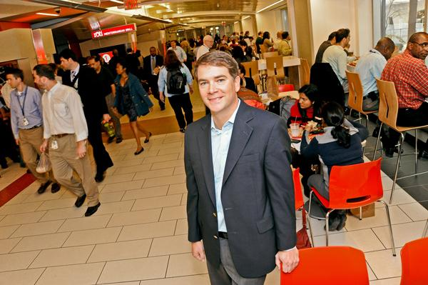 The JBG Cos.' vision of L'Enfant Plaza is a place that draws in more than just tourists for shopping and dining, says Vice President Britt A. Snider.