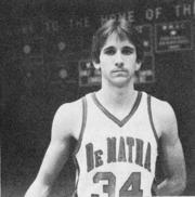 Steve Trax was the sixth man for the 1983-84 DeMatha Stags and went on to score more than 1,000 points for Old Dominion.