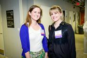 Caitlin Byrnes, left, and Mary Simonda, both of Startup America.