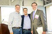 From left, Steve Case, Michael Goldstein of SwitchPitch and D.C. Mayor Vincent Gray.