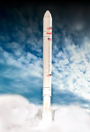 NASA picked Orbital Sciences' Taurus II launch vehicle for a $3.1 billion contract to ship cargo to the space station.