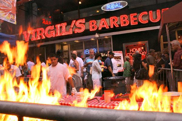 Traditionally not a hot spot for barbecue, the Washington market seems to have caught fire recently as newcomers like New York chain Virgil's Real Barbecue arrive to compete with the locally bred varieties.