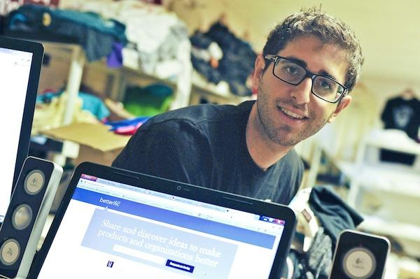 Entrepreneur Micha Weinblatt splits his time between D.C. and a Philadelphia incubator, where he launched a new tech company.
