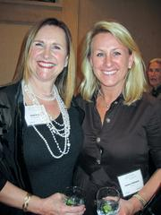 Janet Davis of Brandywine Realty Trust, left, with daughter Andrea Whitaker of Adecco.