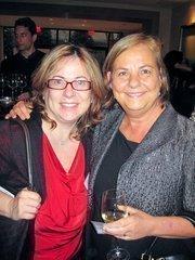 Selva Gunenc of KGO Project Management, left, with Barbara Mullenex of Perkins Eastman.