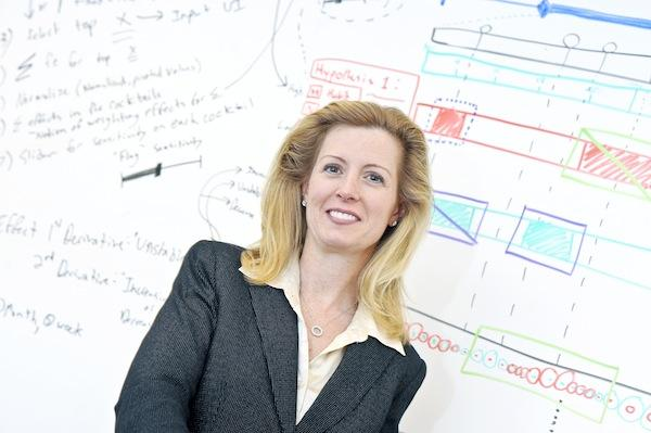 Marybeth Wootton of Berico Technologies is bracing for slower growth but plans to react quickly to any federal cuts.