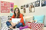 Beyond the norm dorm: Mother and daughter website helps transform your average dorm room from bleak to chic