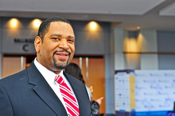 Keith Sellars, the new CEO, said he will align the partnership with Mayor Vincent Gray's strategy.