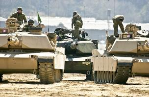 An Army proposal in 2012 to stop production of the Abrams tank for five years was met with a $3 million lobbying campaign by tank-maker General Dynamics. When the dust settled, Congress had provided money to buy more tanks.