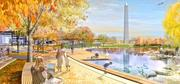 The Trust for the National Mall released images of 12 design concepts in the next stage of its competition to remake three Mall sites: Constitution Gardens; the Sylvan Theater and Washington Monument Grounds; and Union Square near the Capitol. The winners were announced in May and fundraising is beginning.