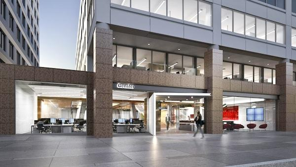 Gensler has leased 13,250 square feet of street level space at its office building, 2020 K St. NW, to open a cafe and feature its projects.