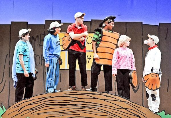 "Looking for shows that could help pull the it out of the recession, the Olney Theatre shifted away from experimental works and put more emphasis on musicals  and family entertainment,  such as ""You're A Good Man, Charlie Brown."""