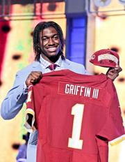 Robert Griffin III already has four national endorsement deals, with Adidas, Subway, E.A. Sports and Gatorade. His agent says he's fielding calls from many potential partners.