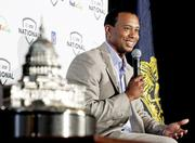 Tiger Woods, shown this spring during a press event for the AT&T National, won the tournament in 2009, but injuries kept him out last year. He is expected to play this year. Gary Cameron/Reuters/Newscom