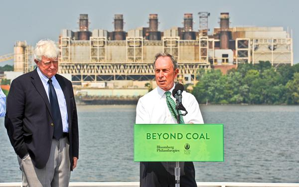 After the 2012 closure of the Mirant plant, shown here during a press conference with Rep. Jim Moran and New York Mayor Michael Bloomberg this summer calling for its closure, the 25-acre site on the Potomac River will be ripe for redevelopment.
