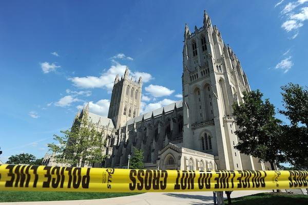 The Aug. 23 5.8 magnitude earthquake caused pinnacles to break at the National  Cathedral. Other structures in the region also sustained damage.