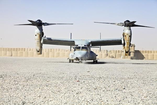 The V-22 Osprey