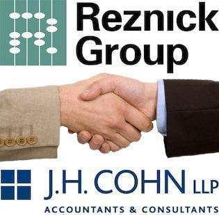 Reznick Group and J.H. Cohn LLP plan to merge.