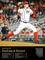 A former No. 1 draft pick for the Nationals, Strasburg had a thrilling first season before undergoing Tommy John surgery and missing an entire season. He roared back to life in 2012, making the All-Star team and notching 15 wins in the Nats' playoff run.