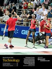 Entrepreneur Mark Ein brought professional tennis to the nation's capital in 2008, and about all the team has done since then is win. Featuring Grand Slam champs Venus Williams, above, and her sister Serena, the Kastles won the World Team Tennis championships in 2009, 2011 and 2012. The team plays on the Southwest waterfront.