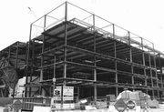 MCI Center construction, February 1997.