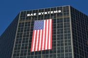 "BAE Systems on N. Fort Myer Drive in Rosslyn participates in ""Flags Across Rosslyn"" to commemorate the 11th  anniversary of the 9/11 terrorist attacks."