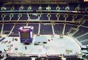 MCI Center construction, November 1997.